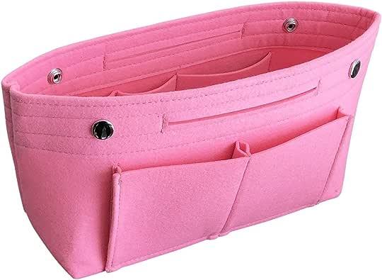 フェルト バッグインバッグ インナーバッグ コスメポーチ 軽量 高級バッグ専用