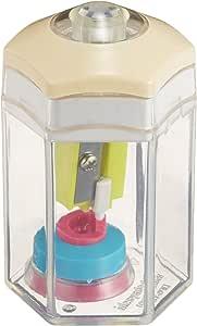 ナカバヤシ 鉛筆削り ハンディシャープナー 楽らっち6 クリーン DPS-T201C