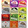 12 Assorted Boxes of HEM Incense Cones Best Sellers Set #3 12 X 10 (120 total) by Hem