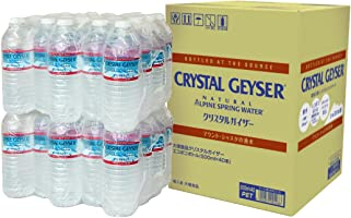 Crystal Geyser 【Amazon.co.jp限定】大塚食品 Crystal Geyser 环保瓶装饮用水 500毫升×40瓶