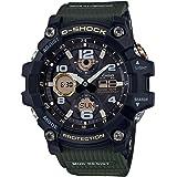 G Shock Men's Gsg100-1A3 Mudmaster Watch Stainless Steel Glass Black