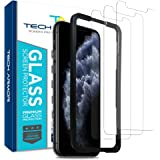 Tech Armor Ballistic Glass Screen Protector for Apple iPhone 11 Pro / iPhone Xs / iPhone X - Case-Friendly Tempered Glass, Ha