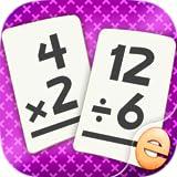 Best 第二学年 - 第2、第3学年の子供のための乗算と除算の数学フラッシュカードマッチゲーム Review