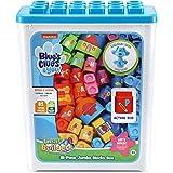 LeapFrog LeapBuilders Blue's Clues and You! 81-Piece Jumbo Blocks Box