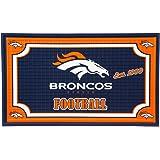 Team Sports America 41EM3809 Denver Broncos Embossed Door Mat