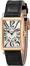 [フランクミュラー]FRANCK MULLER 腕時計 ロングアイランド シルバー文字盤 902 QZ SLV BLK 5N レディース 【並行輸入品】