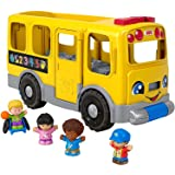 Little People GLT75 Fisher-Price Big Yellow School Bus, Multicolor