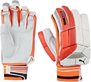 Puma, Cricket, Evo 4 Batting Gloves, Youth, Fiery Coral/White, Right Hand