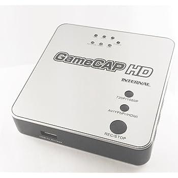 GameCAP HD 1080p / 1080i 60FPS 対応 HDMI 接続対応
