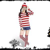 ウォーリー コスプレ ハロウィン 仮装 コスプレ衣装 コスチューム 衣装 ウォーリーを探せ 人気 舞台演出服 クリスマス…