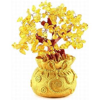 (Rurumiマーケット) 招財樹 黄水晶