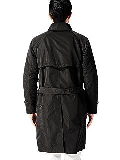 A-Line Balmacaan Coat 11-19-0228-152: Black