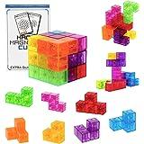SEASOR 最強の頭脳ゲーム マグネットパズル マグネットブロック 賢人パズル 子供 女の子 男の子 マグネットおもち…