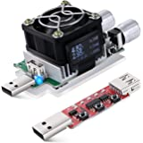 USB Power Meter, Eversame 35W Adjustable Constant Current Electronic USB Load Tester Power Discharge Resistor With QC2.0/3.0