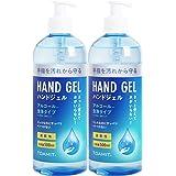 【即納】 ハンドジェル 大容量 500mL アルコール洗浄タイプ 手指 手洗い 速乾性 : 2本
