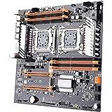 KKmoon デュアル CPU マザーボード LGA2011 SATA3.0 E-ATX M.2 256G DDR3 メ…