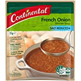 CONTINENTAL Simmer Soup   French Onion (Salt Reduced), 35g