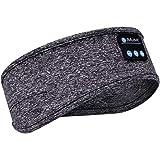 Sleep Headphones Bluetooth Headband with Built -in Speakers Soft Sleeping Wireless Music Sport Headbands, Long Time Play Slee