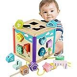 let's make 在庫処分 パズルボックス 型はめ遊び 立体パズル 木製 おもちゃ 知育玩具 柔らかおもちゃ 想像力を育つ玩具 早期開発 子供 赤ちゃん 誕生日 出産お祝い 贈り物