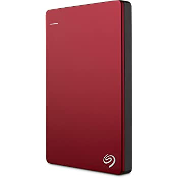 Seagate ポータブルハードディスク 2TB (レッド/バックアップソフト / 2.5インチ / USB3.0 / 3年保証 /正規代理店品) Backup Plus STDR2000303