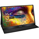 Portable Monitor - 2020 Lepow Z1-Gamut 15.6'' FHD Laptop Display [Improved Color Gamut] IPS 1080P Ultra-Slim Type-C & HDMI Se