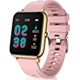 CanMixs Smart Watch for Android Phones iOS Waterproof Smart Watches for Women Men Sports Digital Watch Fitness Tracker Heart