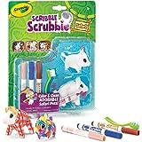 Crayola Scribble Scrubbie 2pk - Bison & Boar Colourable Pet