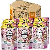 【ケース販売】フレアフレグランス 柔軟剤 ジェントル&ブーケの香り 詰め替え 大容量 1200ml×6個