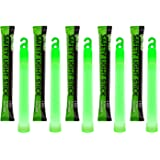 "6"" Industrial Grade Glow Sticks, Ultra Bright Emergency Light Sticks with +12 Hours Duration"