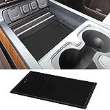 ROCCS Secret Compartment Cover Center Console Organizer Tray for 2014-2018 GMC Sierra 1500 2500HD 3500HD Denali Chevy Silvera