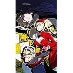 ペルソナ iPhoneSE/5s/5c/5(640×1136)壁紙 モルガナ,主人公,坂本竜司,高巻杏
