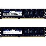 Timetec 16GB KIT(2x8GB) DDR3 1333MHz PC3-10600 Non-ECC Unbuffered 1.5V CL9 2Rx8 Dual Rank 240 Pin UDIMM PC Desktop Computer M
