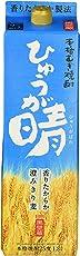 麦焼酎 ひゅうが晴 25% パック 1800ml