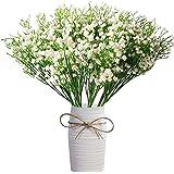 (Baby Breath Gypsophila) - 12 Pcs Babys Breath Artificial Flowers,LYLYFAN Gypsophila Real Touch Flowers for Wedding Party Hom