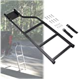 KMFCDAE Tailgate Ladder Pickup Truck Accessories Universal Extension Step Ladder with Stainless Steel Self Drilling Hex Screw