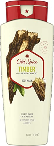 Old Spice Timber Body Wash, 473ml, Sandalwood