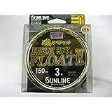 Sunline 60170768 Siglon Fine Float Ii P-Ion 12 Lb. Siglon Fine Float Ii P-Ion, Vivid Yellow, 165 yd