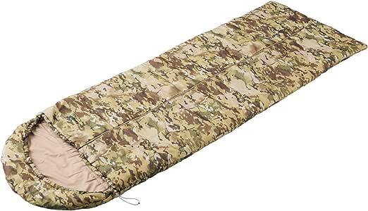 Snugpak(スナグパック) 寝袋 ノーチラス スクエア センタージップ テレインカモ 2シーズン対応 丸洗い可能 [快適使用温度3度] (日本正規品) 【新旧モデル】