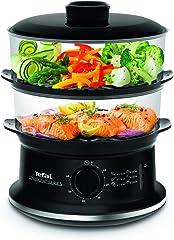Tefal VC140165 Convenient Food Steamer Black