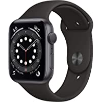 Newest Apple Watch Series 6 (GPS Model) - 44mm Space Gray Aluminum Case and Black Sport Band