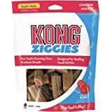 KONG - Ziggies - Teeth Cleaning Dog Treats (Best Used with KONG Classic Rubber Toys) - Chicken Flavour - for Small Dogs