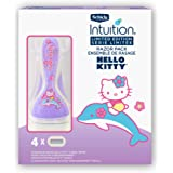 Schick Intuition Limited Edition Hello Kitty Pure Nourishment Razor for Women with 1 Razor and 4 Refills
