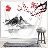 Tapestry, Art Wall Hanging for Bedroom Living Room College Dorm TV Backdrop Wall Blankets 71X60 Inches, Fabric Polyester cher