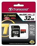 トランセンド・ジャパン Transcend microSDHCカード 32GB UHS-I対応 最大転送速度90MB/s 無期限保証 Newニンテンドー3DS 動作確認済み TS32GUSDHC10U1