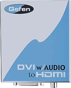 Gefen DVI/Audio (S/PDIF) to HDMI変換機 EXT-DVIAUD-2-HDMI