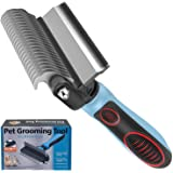 IFAN™ Professional 2-in-1 Pet Comb Cat Brush Dog Brush Cat Grooming Comb Dog Grooming Comb Remove Fleas & Knot-Open & Carding