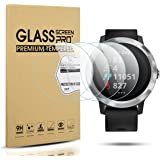 Diruite 4-Pack for Garmin Vivoactive 3 Tempered Glass Screen Protector (Not Fit for Vivoactive 3 Music) [Anti-Scratch] [Perfe