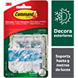 Command Indoor/Outdoor 36 Light Clips and 40 Strips - Clear