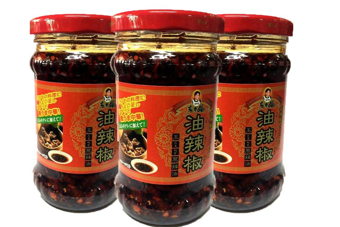 ローカンマ 香辣脆油辣椒 瓶 210g