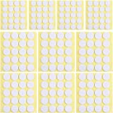 400pcs Candle Wick Stickers Heat Resistance Candle Making Double-Sided Stickers